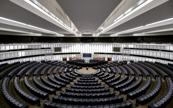 Photographie d'un hémicycle ONU